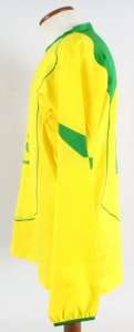 2004-05 Cris Game-Worn Jersey Brazil National Team - COA 100% Authentic Team & Provenance LOA