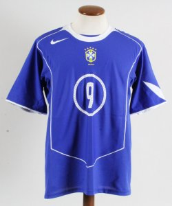 2004-05 Ronaldo Game-Worn Jersey Brazil National Team - COA 100% Authentic Team & Provenance LOA