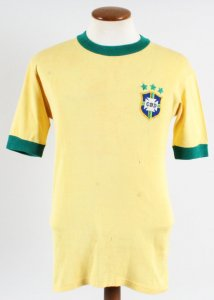1971-72 Marco Antônio Game-Worn Jersey Brazil National Team