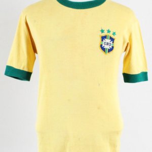 1971-72 Marco Antônio Game-Worn Jersey Brazil National Team