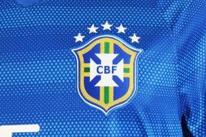 2014 Fernandinho Game-Worn Jersey Brazil National Team - COA 100% Authentic Team