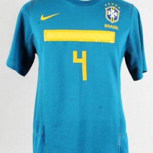Thiago Silva Game Ready Jersey Brazil National Team - COA 100% Authentic Team