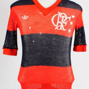 1981 Zico Game-Worn Jersey Flamengo - COA 100% Authentic Team