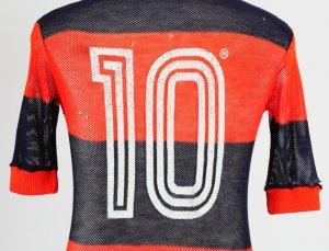 1981 Zico Game-Worn Jersey Flamengo - COA 100% Authentic Team