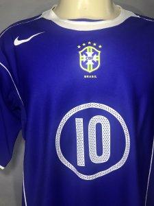 1995 Brazil #10 Rivaldo Game Worn Jersey