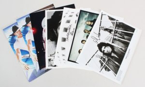 Musician Signed Photo Lot (7) Alice Cooper, Tim McGraw, etc. - COA JSA