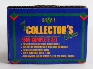 1989 Upper Deck Baseball Card Box Complete Set Ken Griffey Jr. RC
