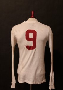 Gerd Muller Game-Used #9 Bayern Munich Shirt.  Early 1970's.