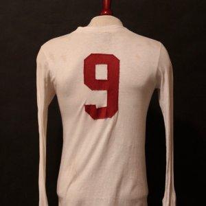 Gerd Muller Game-Used #9 Bayern Munich Shirt.  Early 1970's.