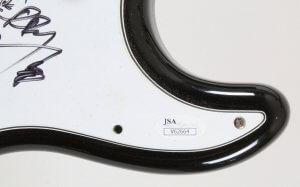 Papa Roach Signed Guitar - COA JSA