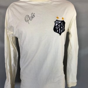 1972 Santos Team #10 Pele Game Worn Jersey Signed COA 100% Authentic Team & Provenance LOA