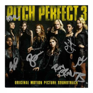 Pitch Perfect 3 Target Exclusive with Autographed Book and cd