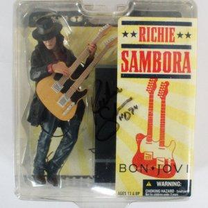 Richie Sambora Signed Toys McFarlane Bon Jovi - COA JSA