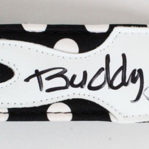 Buddy Guy Signed Guitar Belt - COA JSA