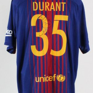 Neymar Signed Jersey To Kevin Durant - COA JSA