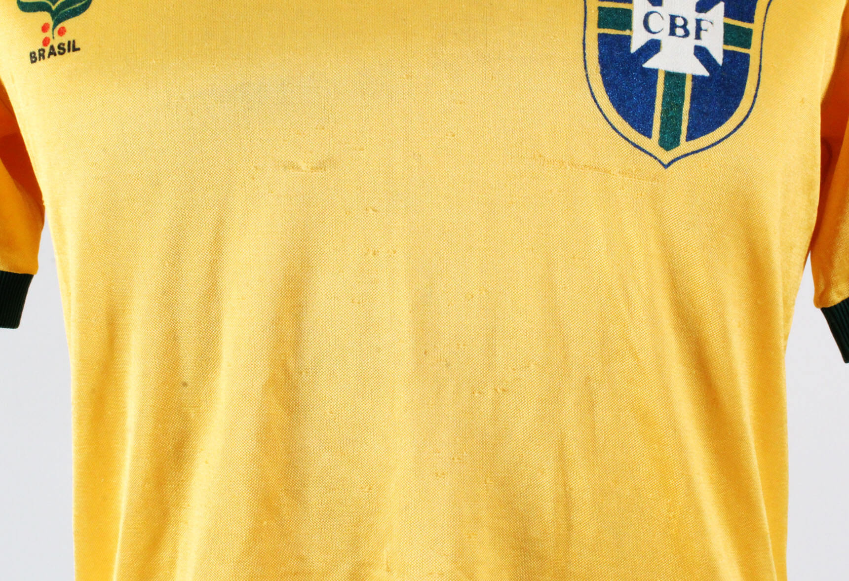 7f8d675cc36 Luizinho Game Worn Brazil Jersey 1981 – COA 100% Authentic Team Provenance  LOA