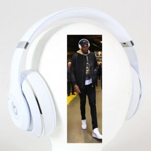 Kevin Durant Personal Owned Beats by Dre Headphones