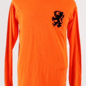 1971 Johan Cruyff Game-Worn Jersey Netherlands National Team - COA 100% Authentic Team, Provenance LOA