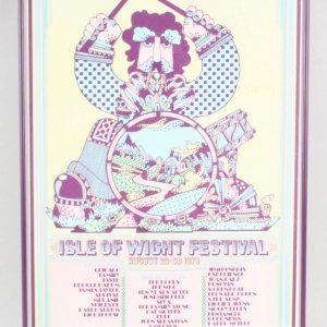 Isle of Wight Music Festival Poster