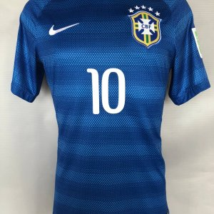 2014 World Cup Neymar Game-Issue Jersey 100% Authentic Team & Provenance