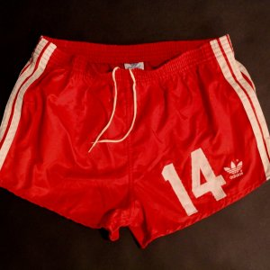 Johan Cruyff Game-Used #14 Washington Diplomats NASL Shorts.