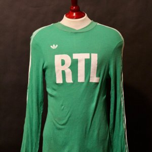 Michel Platini Game-Used St. Etienne Home Shirt.  Circa 1970's/1980's.