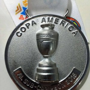 Copa America 2015 Second Place Medal