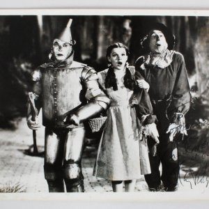 Ray Bolger Signed Photo Wizard of Oz - COA JSA