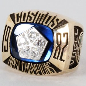 1982 Cosmos National Championship Ring Soccer- Provenance Letter