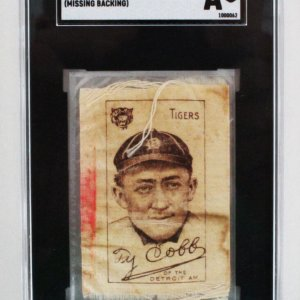 1909 S74 Ty Cobb Silks White Graded SGC