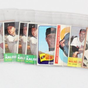 MLB HOF Card Lot (11) Topps Sandy Koufax, Willie Mays, Musial etc.