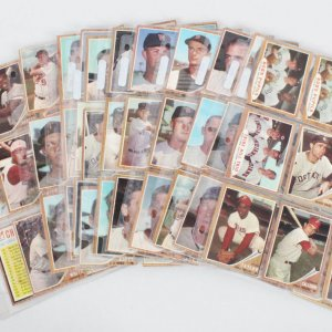 1962 Topps Baseball Card Lot (186) Casey Stengel, Gil Hodges, etc.