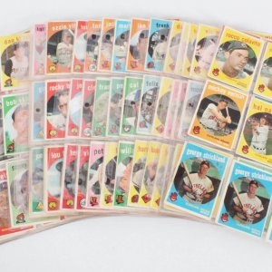 1963 Topps Baseball Card Lot (131) Tony Kubek, Hoyt Wilhelm, etc.