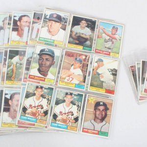 1961 Topps Baseball Card Lot (190) Harmon Killebrew, Duke Snider, etc.