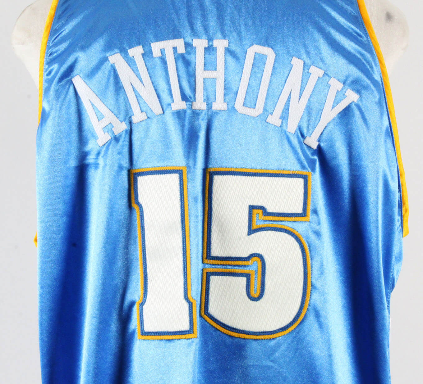 dc67a7e611c 2003-04 Carmelo Anthony Game-Worn Jersey Nuggets – COA 100% Authentic Team