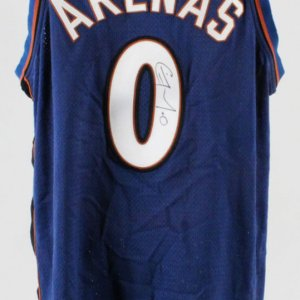 2003-04 Gilbert Arenas Game-Worn Jersey Signed Wizards - COA PSA/DNA & 100% Authentic Team
