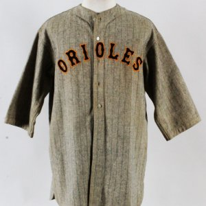 1931 Don Heffner Game-Worn Uniform Orioles Minor League - COA 100% Authentic Team