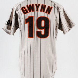 1985 Tony Gwynn Game-Worn Jersey Padres - COA 100% Authentic Team