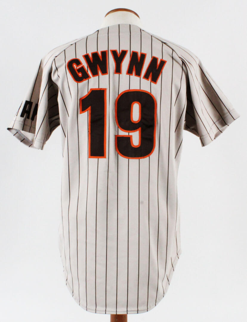 reputable site 05e1b b2f2e 1985 Tony Gwynn Game-Worn Jersey Padres - COA 100% Authentic Team