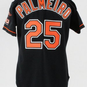 1997 Rafael Palmeiro Game-Worn Jersey Orioles - COA 100% Authentic Team
