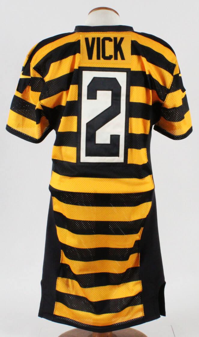eb7d41828f6 Michael Vick Game-Worn Jersey Steelers – COA Team Paperwork ...