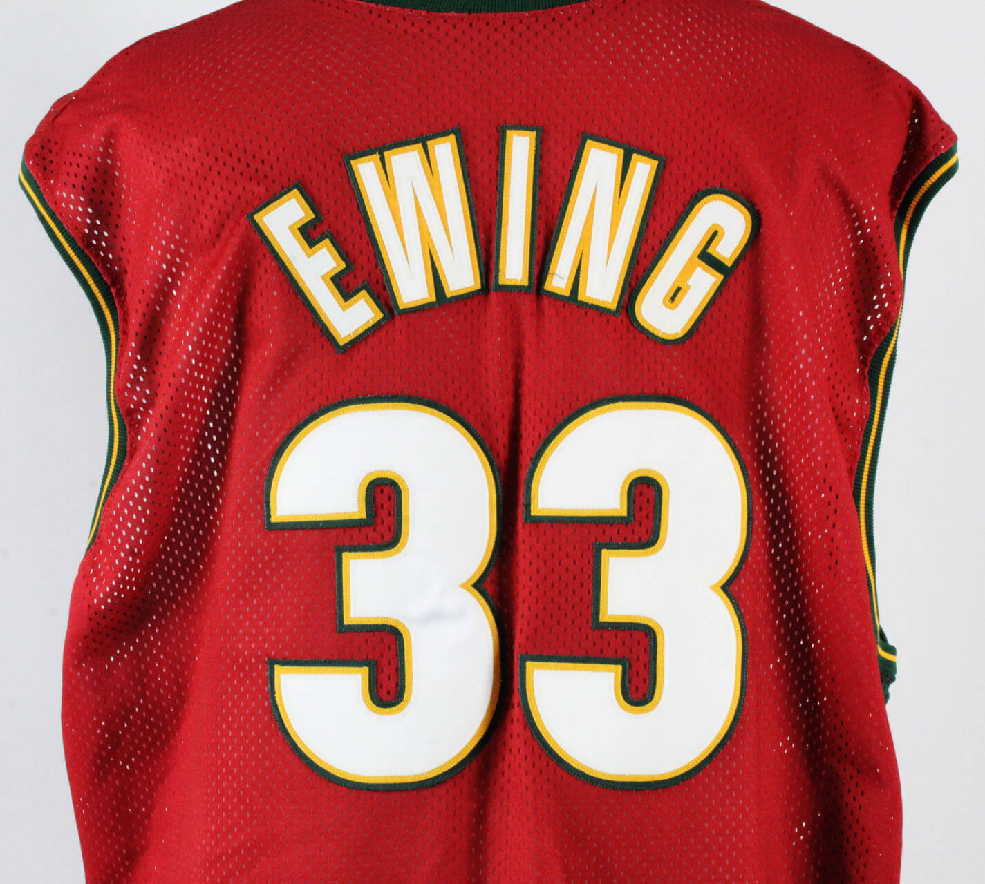 new style 39520 95b3d 2000-01 Patrick Ewing Game-Worn Jersey SuperSonics - COA 100% Authentic Team