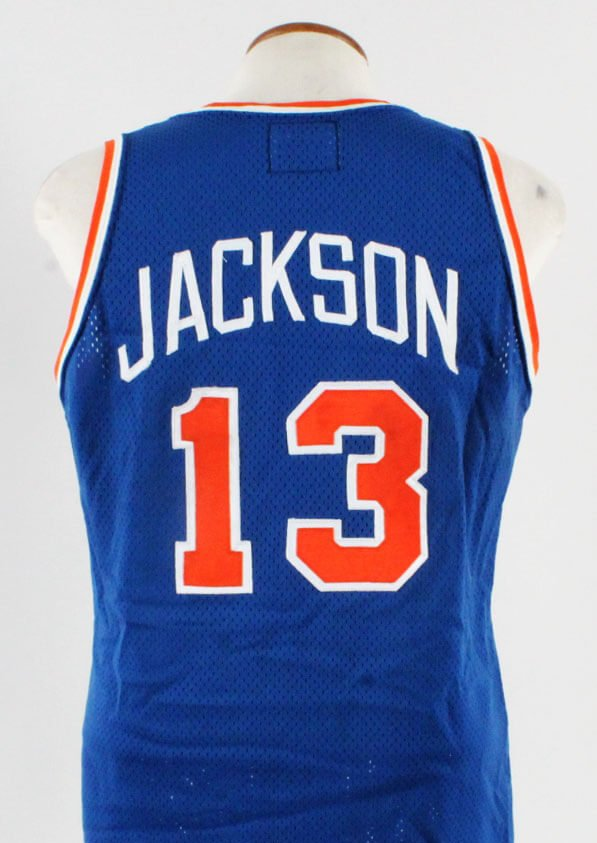 huge selection of 4829f 4a428 Mark Jackson Game-Worn Jersey Knicks – COA 100 ...