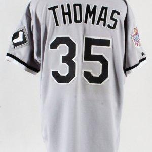 Frank Thomas Game-Worn Jersey w/Pants White Sox - COA 100% Authentic Team