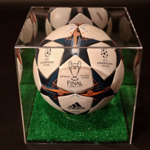 2014 UEFA Champions League Game-Used Match Ball.  Real Madrid v Atletico Madrid.