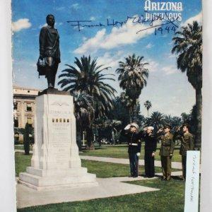 Frank Lloyd Wright Signed Magazine - COA JSA