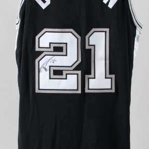 Tim Duncan Game-Worn Jersey Signed w/ Shorts Spurs - COA JSA & 100% Authentic Team