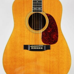 Martin Acoustic Guitar Signed 30th Anniversary D-35