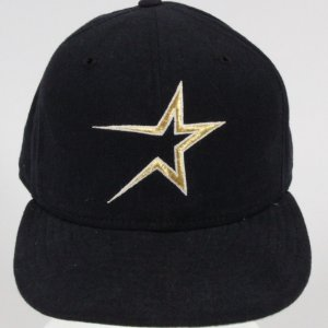 Jeff Bagwell Game-Worn Cap Astros - COA 100% Authentic Team
