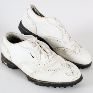 Ken Griffey Jr. Game-Worn Shoes Signed Golf - COA Player LOA